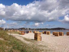 Sonne Strand und Meer in Eckernförde