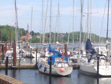 Sportboothafen in Eckernförde