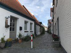 Straße in der Eckernförder Altstadt